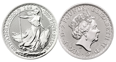 The Royal Mint Silver Britannia