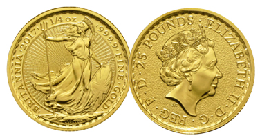 The Royal Mint Gold Britannia